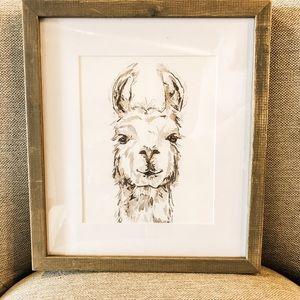 Llama photo art